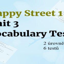 Happy street unit 3 vocabulary tests