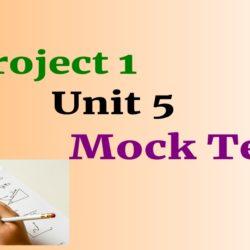 Project 1 Unit 5 mock test