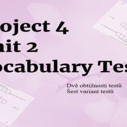 Project 4 Unit 2 testy na slovíčka