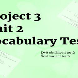 Project 3 Unit 2 testy na slovíčka