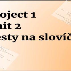 project 1 Unit 2 testy na slovíčka